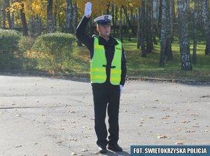1.Odpowiednik sygnału żółtego – nastąpi zmiana kierunków ruchu